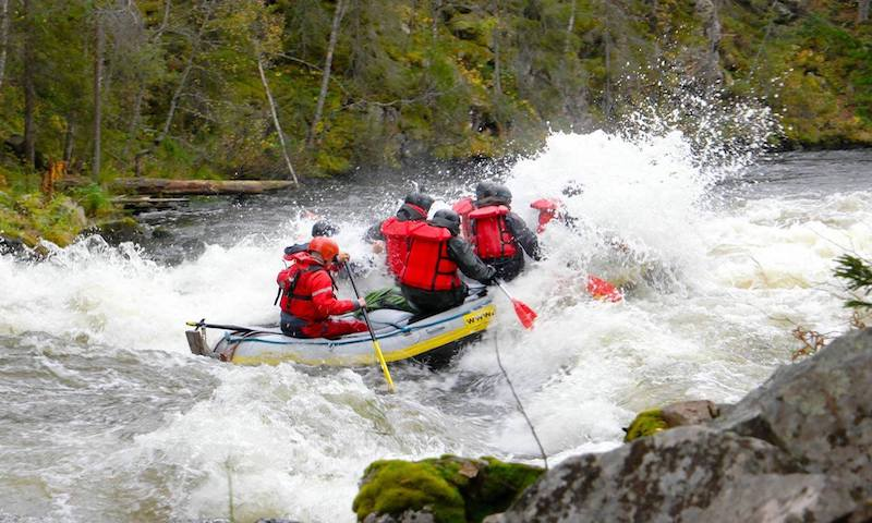 River Rafting Wild Route